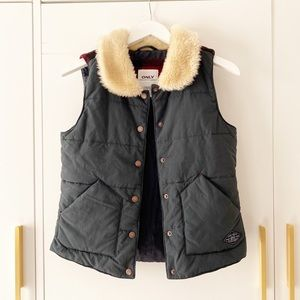 ONLY Vest - step up your fall/winter wardrobe!